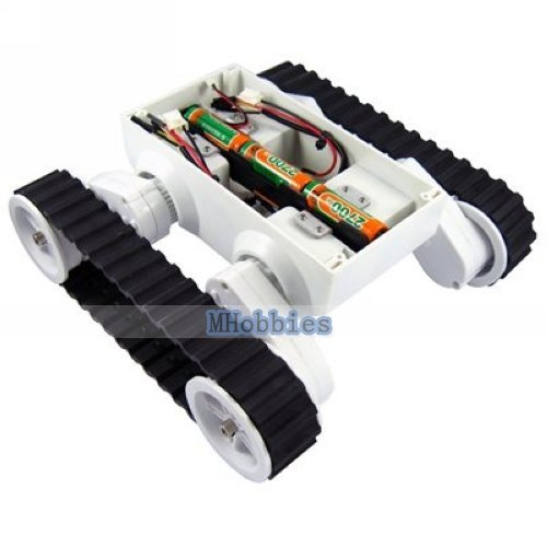 Free shipping Rover 5 chassis tank chassis settable ground clearance robot tank platform