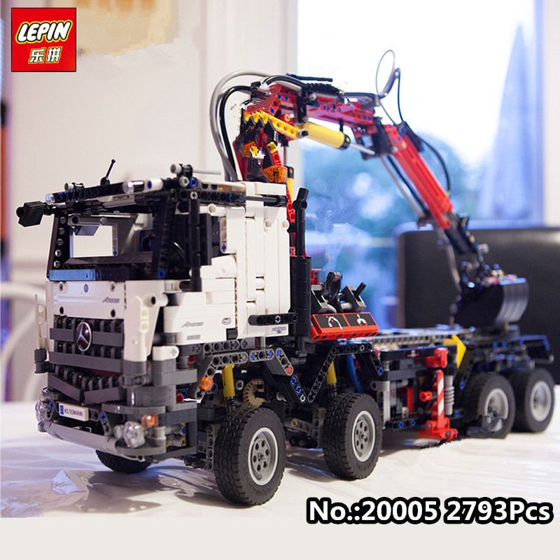 IN STOCK 2793pcs NEW LEPIN 20005  series 42023 Arocs Model Building Block Bricks Compatible with Boys Toy Gift lepin 20005 2793pcs technic series model building block bricks compatible with boys toy gift compatible legoed 42023