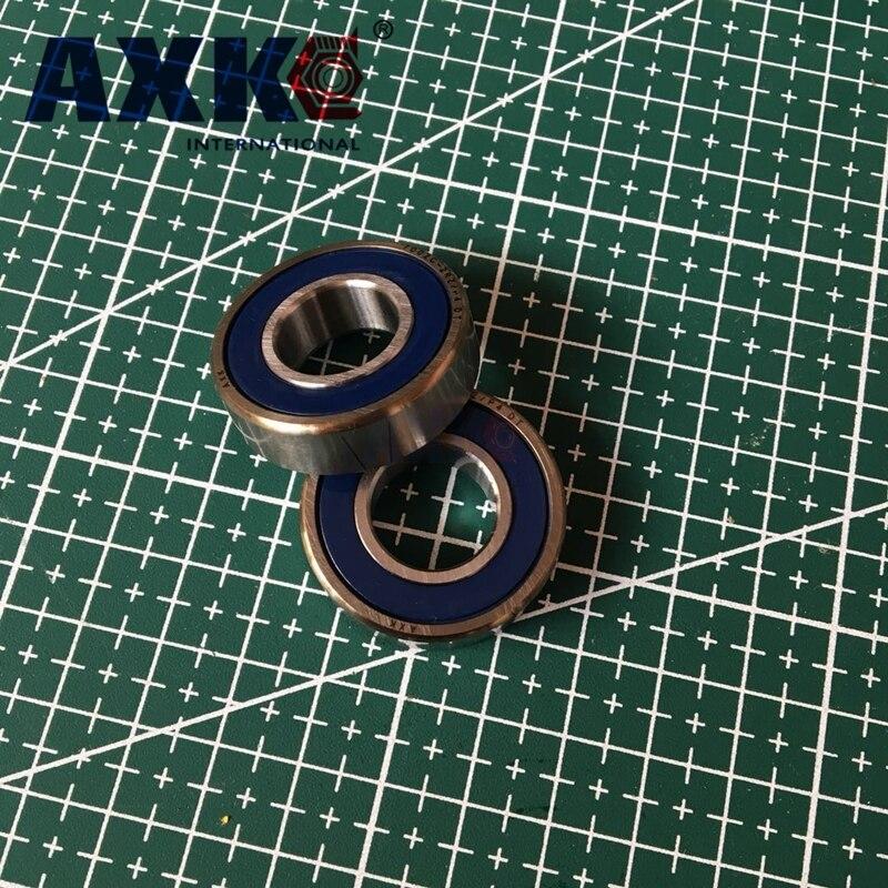 1 paire AXK 7005 7005C 2RZ P4 DT 25x47x12 25x47x24 roulements à Contact oblique scellés roulements de broche de vitesse CNC ABEC-7