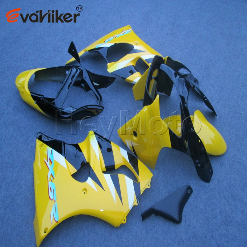 Bolts+ Painted yellow Injection mold ABS Plastic <font><b>fairing</b></font> for <font><b>ZX6R</b></font> 00-02 ZZR600 05-08 2005 2006 2007 <font><b>2008</b></font> image