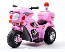Free shipping The new children electric car motorcycle  tricycle baby stroller police toy car