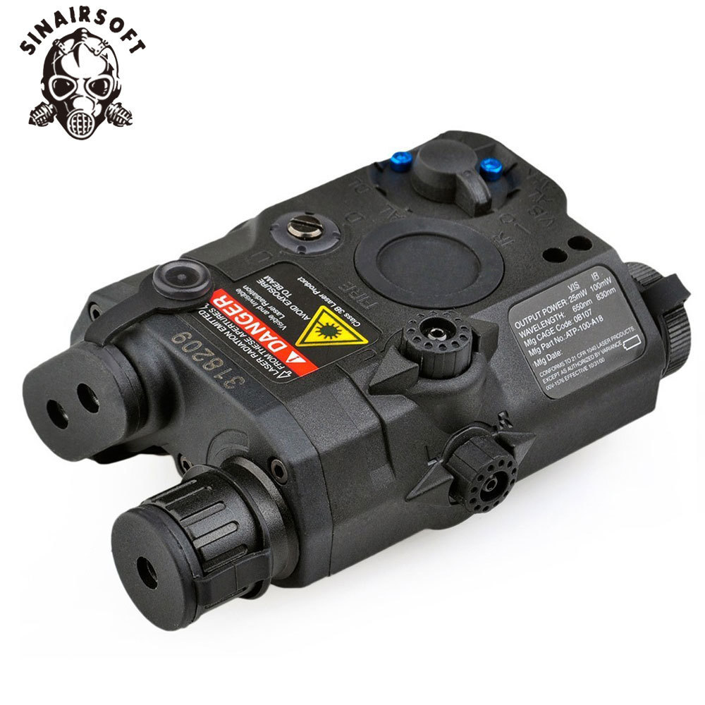 Paintball Airsoft Shooting LA PEQ15 Red Dot Tactical Light PEQ Red Laser PEQ 15 IR Lights