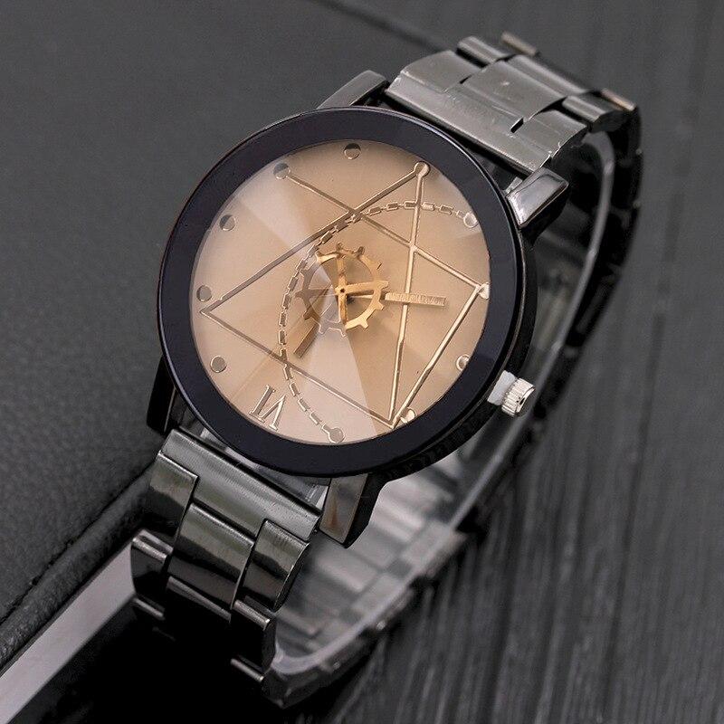 Relogio Masculino Fashion Sport Watch Watch Men  Women  Luxury Stainless Steel Business Quartz Watches Chasy Zhenskiye