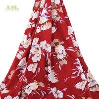 Chainho, магнолии, цветы, печать на ткани/Sleep (Пробуждение/спящий режим) & летние швейная ткань/искусственный шелк/юбка/платье/рубашка Материал д...
