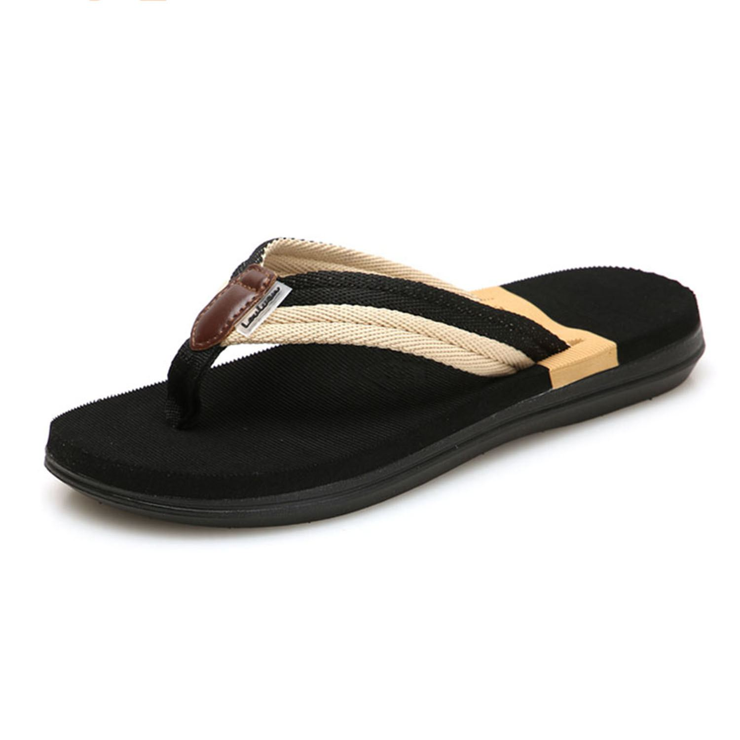Beach Sandals Sandalias Men Shoes Summer Slippers Flip Flops Men Sandals Hombre Chausson Homme Casual Walking Shoes 6 colors flip flops men sandals summer shoes men slippers beach sandals men flip flops sandalias hombre slides size 39 45 page 1