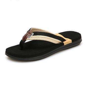 Beach Sandals Sandalias Men Shoes Summer Slippers Flip Flops Men Sandals Hombre Chausson Homme Casual Walking Shoes Slippers