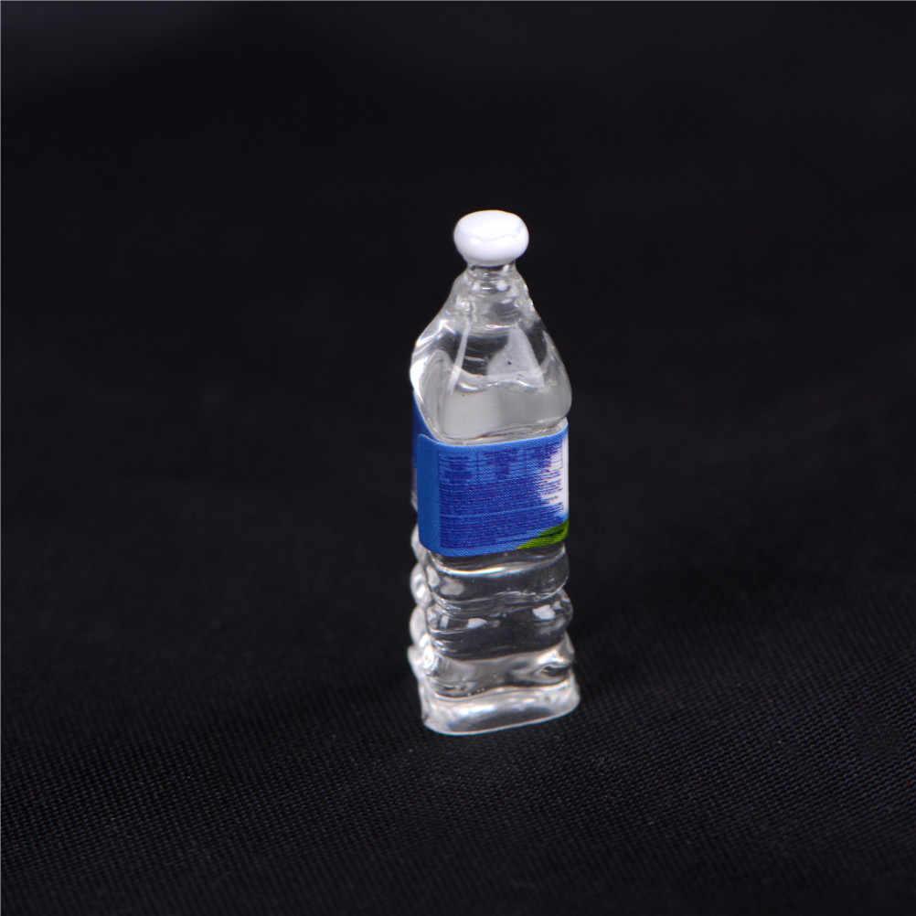 1:6 масштаб 4 шт кукольный бутылка минеральной воды Миниатюрная игрушка кукла Еда Кухня Гостиная аксессуары для детей подарок притворяться, играть в игрушки