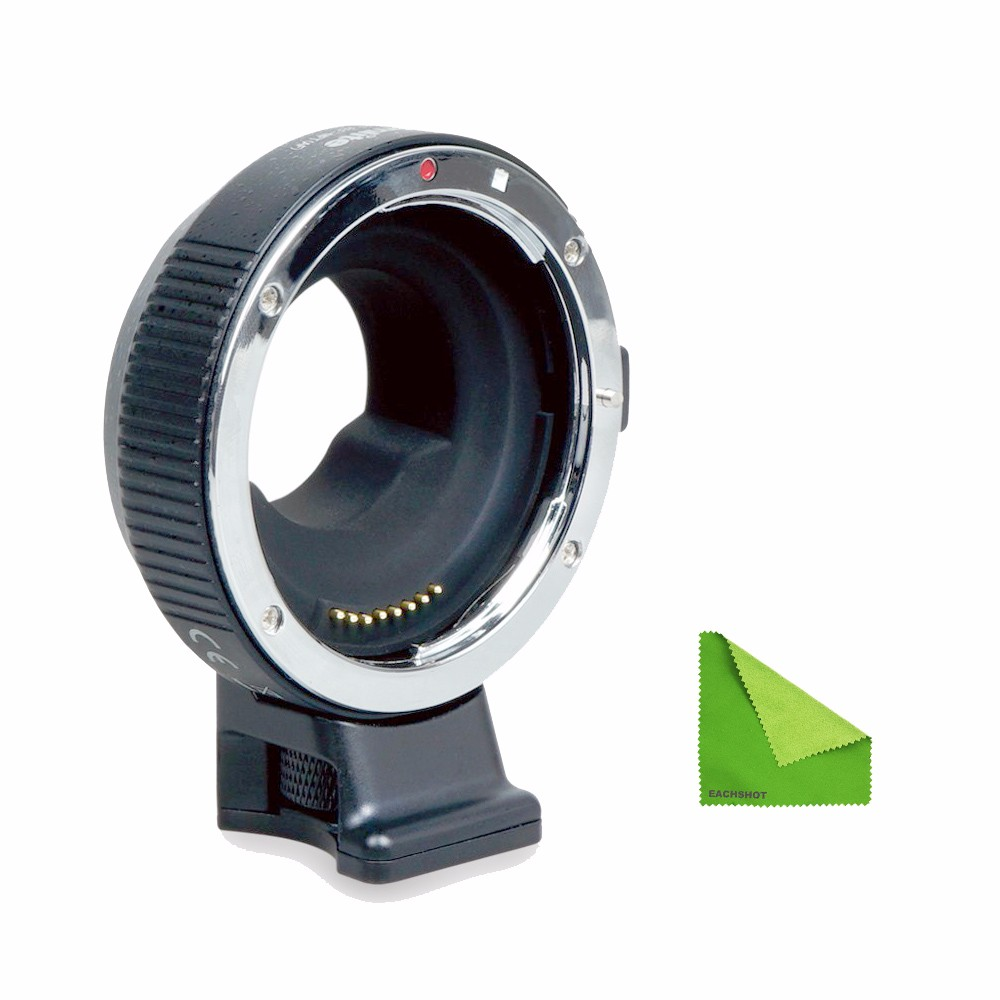 Commlite Updated Electronic AF Auto Focus built in IS Lens mount adapter EF M4 3 for