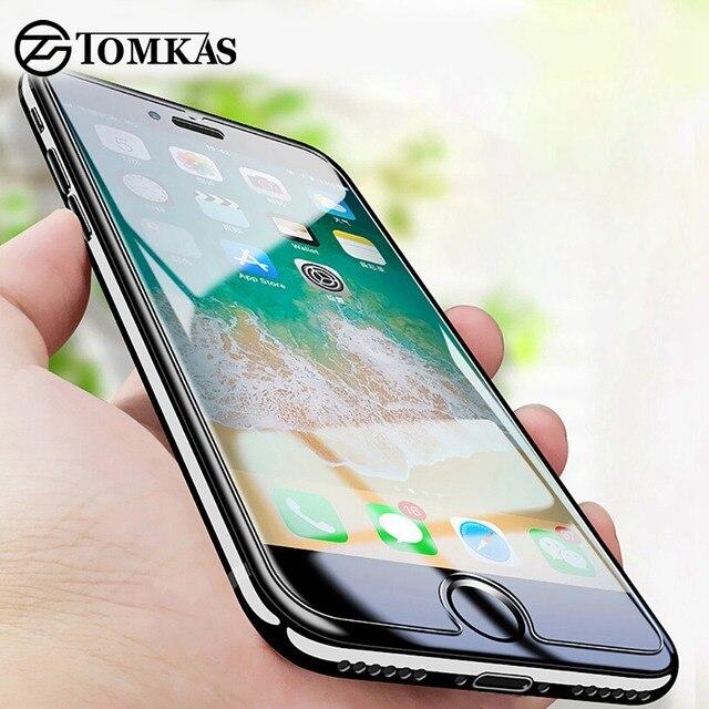 Bảo vệ Tempered Glass đối với iPhone 6 7 4 5 S SE 6 S XS Max XR Kính iPhone 7 8 cộng với X Bảo Vệ Màn Hình Thủy Tinh trên iPhone 7 6 S 8