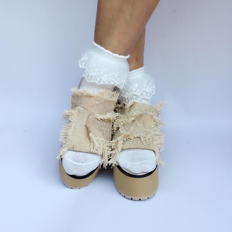 Милые туфли принцессы в стиле «лолита»; обувь для отдыха на рифленой нескользящей подошве, визуально увеличивающая рост; модные женские туф
