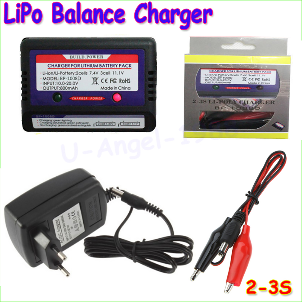 Li Polymer Lipo Rc Battery 74v 111v Akku Balance Charger 2s 3s Device For Lithium Simple Adapter In Parts Accessories From Toys Hobbies On