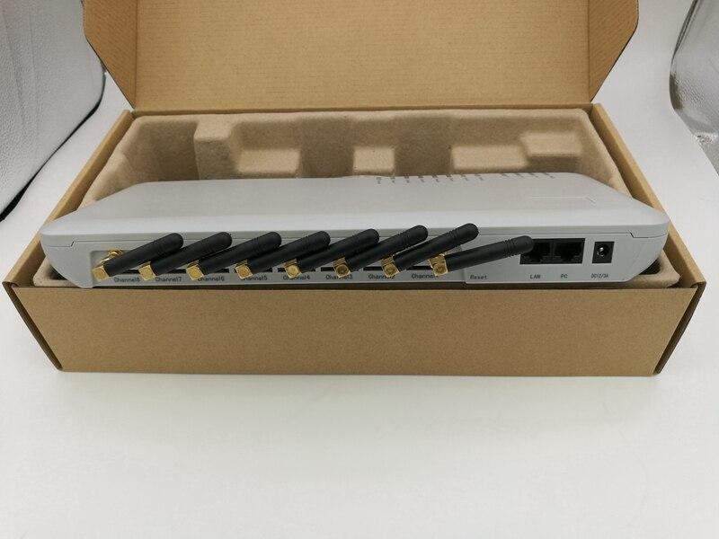Passerelle gsm GoIP 8 ports/passerelle sip voip/passerelle IP GSM/passerelle GSM GoIP 8-passerelle gsm VoIP 8 canaux-la meilleure vente en gros