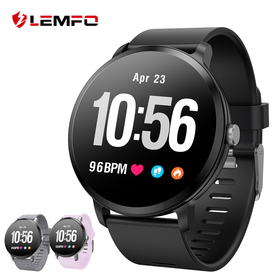 775cc2e0a9f LEMFO v11 Smart Watch Heart Rate Blood Pressure Monitor Smartwatch Various  Sports Modes Breathing Light Smart Watch Men Women