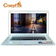 CrazyFire 14 дюймов 16:9 1600*900 экран двухъядерный ноутбук 4 ГБ оперативной памяти и 64 ГБ SSD Wi-Fi HDMI 1.3MP веб-камера Windows 7/8