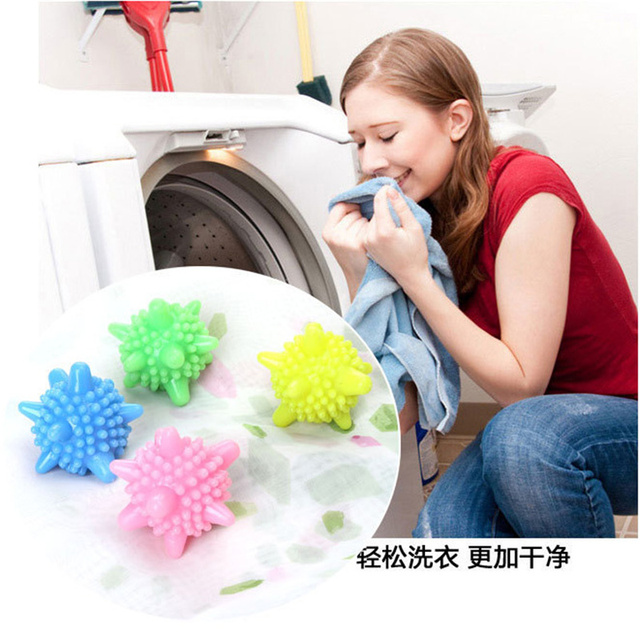 5 Pcs Reusable Laundry Balls Magic Washing Ball Clothes Care Household Merchandise Home & Garden Cleaning Products