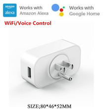 цены на S12 Remote Control Smart Socket Wireless WIFI Timing Switch Outlet Power Socket Plug Support Amazon/Google Smart Home Automation  в интернет-магазинах