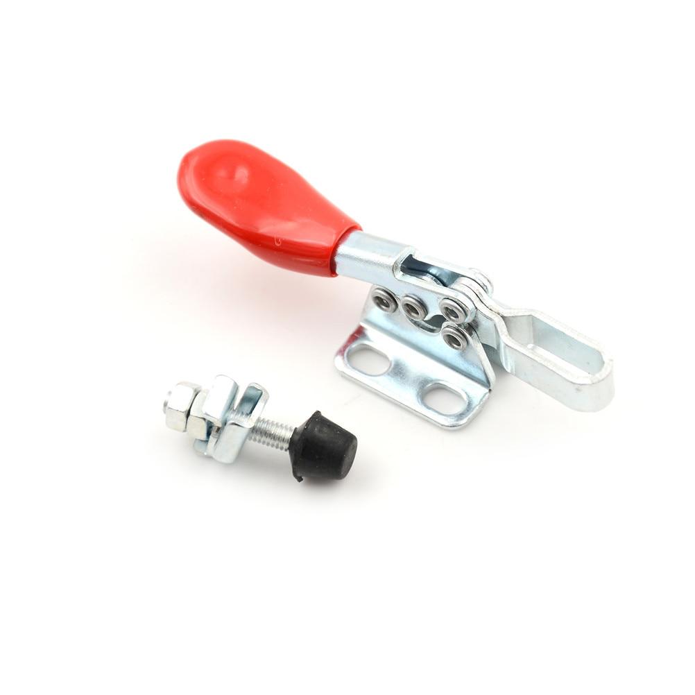 Manivelalı kelepçe dikey/yatay manivelalı kelepçe 90kg 198Lbs hızlı bırakma manivelalı kelepçe kaymaz itme çekme el aracı