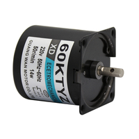 60KTYZ 220V AC Motor micro slow permanent magnet synchronous gear Motor