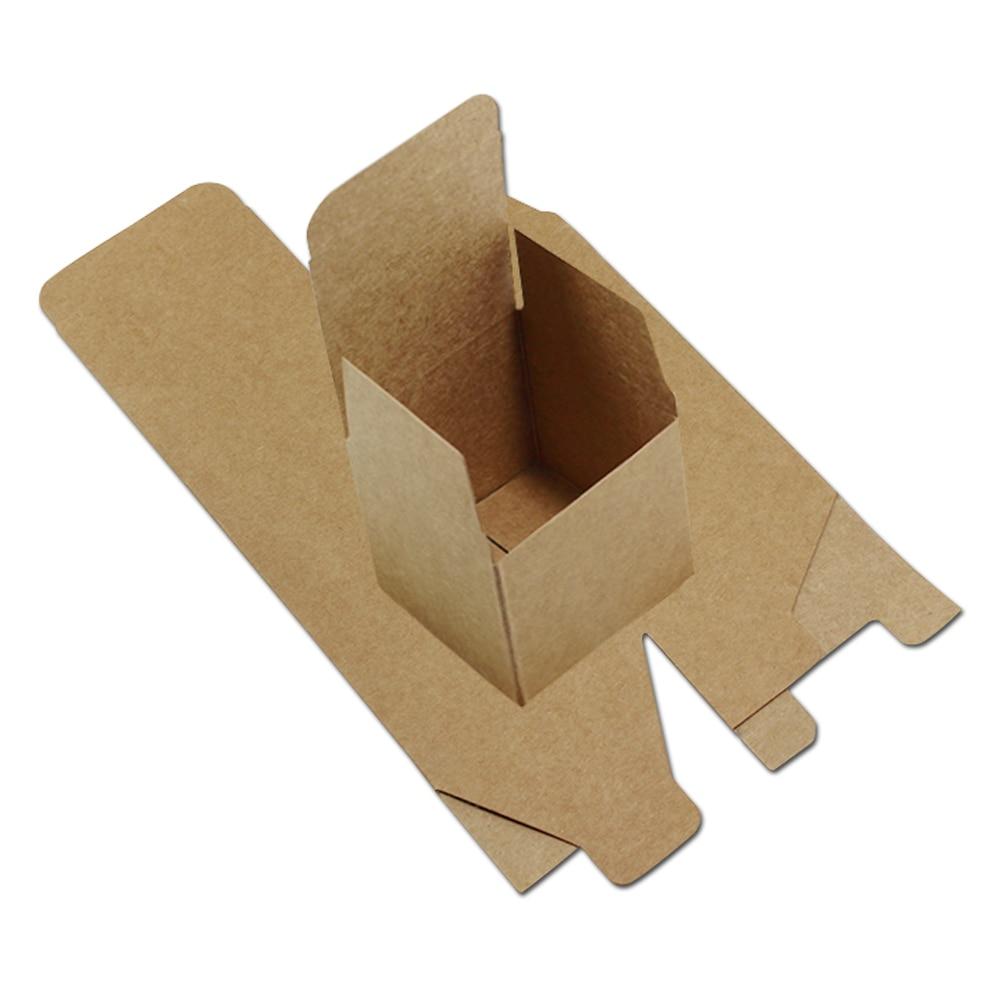 40pcs / Παρτίδα 5 * 5 * 5cm Χαρτί Kraft Μικρό - Προϊόντα για τις διακοπές και τα κόμματα - Φωτογραφία 6