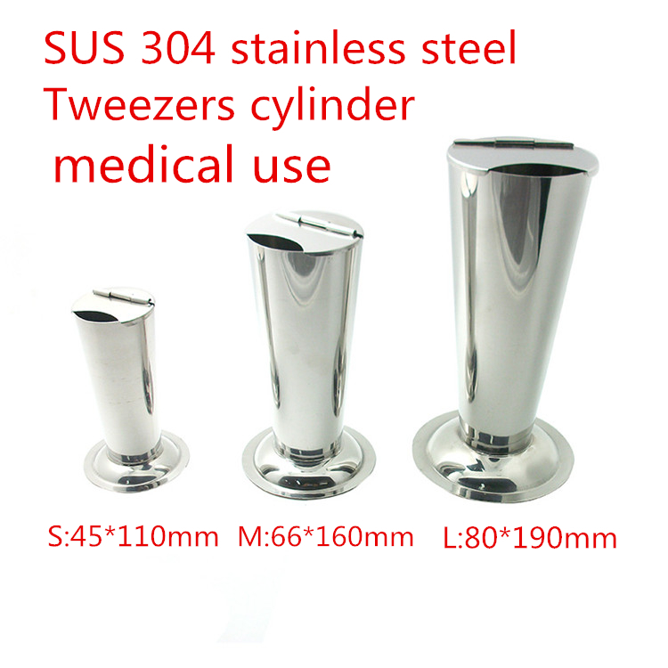 304 Stainless Steel medical Tweezers Barrel Cylinder Barrel Forceps Corrosion Protection instrument Forceps placement cylinder medical orthopedics instrument spinal system stainless steel bending forceps plate bending device