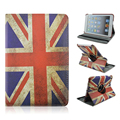 Flag of Britain Pattern 360 Rotating PU Leather Full Body Case with Stand for iPad Air 1