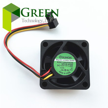 цена на Free Shipping Original  KDE1204PKVX 4020 12V 1.6W for Cisco 2950 fan switch server inverter cooling fan
