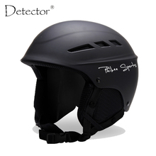 Detector 2016 Ski Helmet PC+EPS Ultralight High Quality Snowboard Helmet Men Women Children Skating Skateboard Skiing Helmet