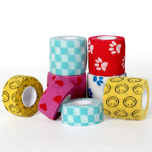 Image 2 - 5CM*4.5M Tape Waterproof Self Adhesive Elastic Bandage Muscle Tape Finger Joints Wrap Therapy Bandage Care 1 Pc