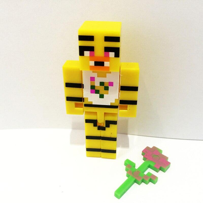 4 հատ / սահմանել Minecraft- ը հինգ գիշեր - Խաղային արձանիկներ - Լուսանկար 4