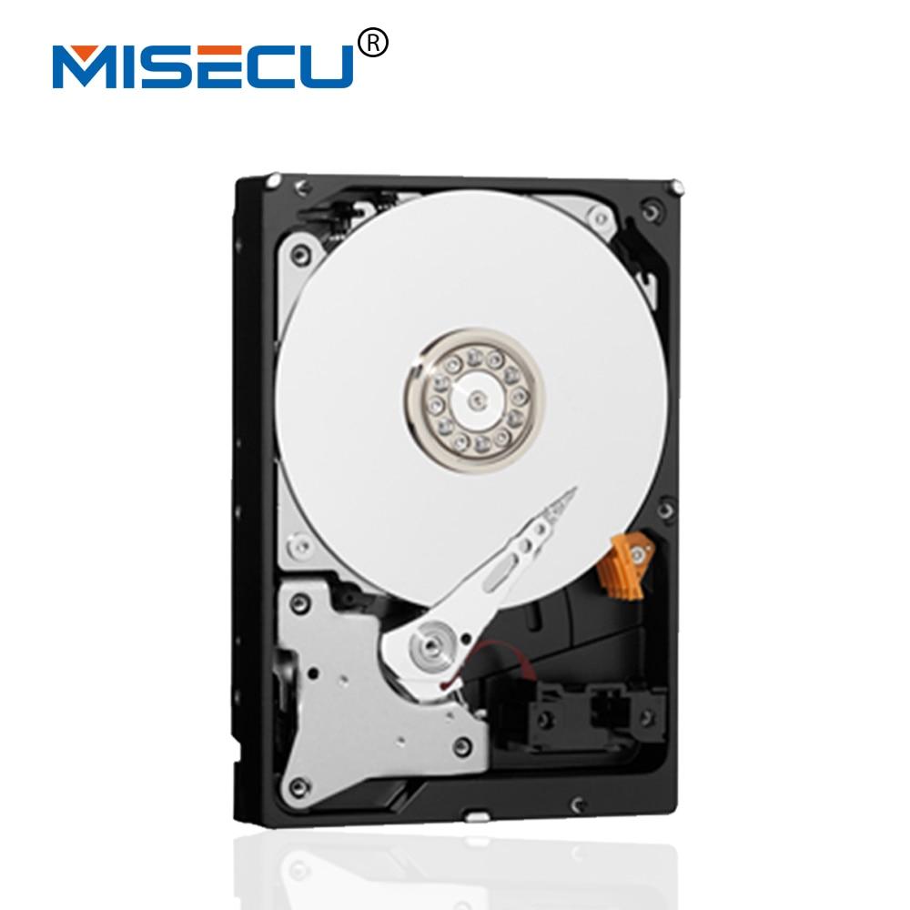 все цены на  New MISECU 4TB 3.5'' inch SATA internal Hard Disk Drive HDD 4000GB 64M 7200rpm speed for CCTV DVR NVR,CCTV SYSTEM ,free shipping  онлайн