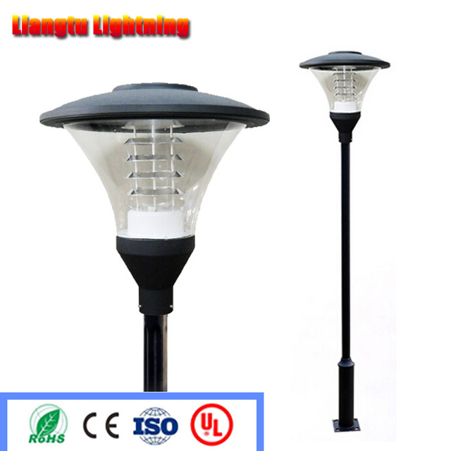 Charming Street Light Garden Pole Lamp Led Road Lighting Villa Courtyard Aluminum  Light Fitting Waterproof 220v/