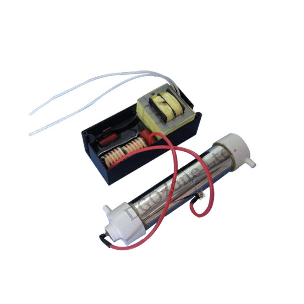 FREE SHIPPING Ozone Generators for air purifying 2g quartz tube ozone with ozone parts DIY mini
