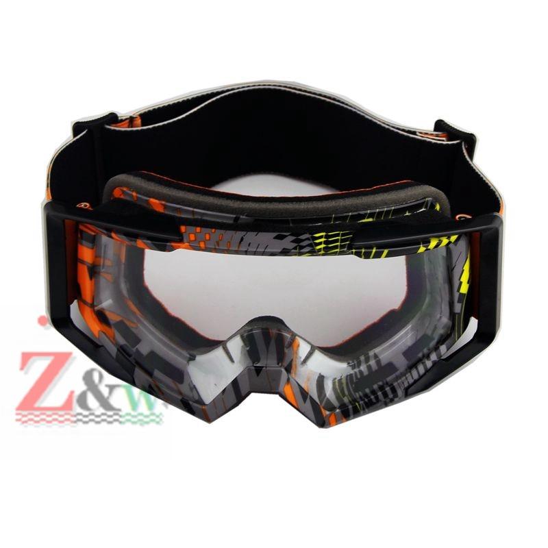Clear Lense Ski Snowboard Goggles Skiing Glasses Motorcycle Helmet Dirt Bike Goggles Eyewear Blinkers Winter Sports Glasses