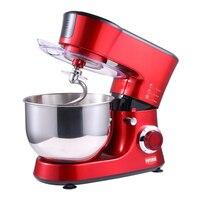 HOODAKANG 5L Stainless Steel Bowl 6 speed Kitchen Food Stand Mixer Cream Egg Whisk Blender Cake Dough Bread Mixer Maker Machine