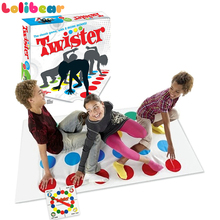 Twister Game Family Outdoor Funny Moves Sports PVC Play Mat Multi-player Twisting Body Creative Party Interactive Toys For Kids(China)