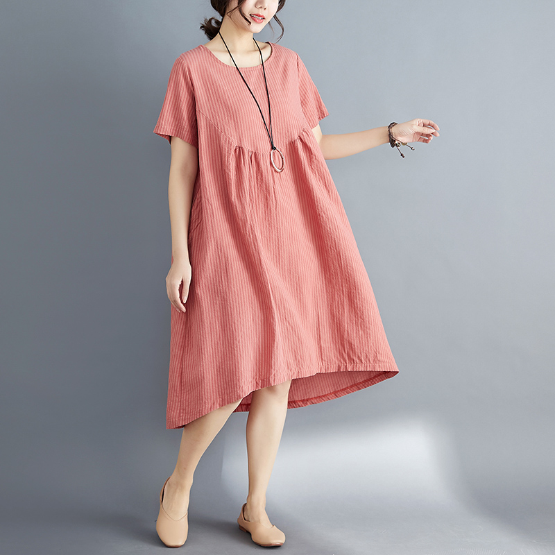 6596# Oversize Loose Cotton Maternity Dress Summer Casual Large Size Clothes for Pregnant Women Pregnancy Clothing Drop Shipping6596# Oversize Loose Cotton Maternity Dress Summer Casual Large Size Clothes for Pregnant Women Pregnancy Clothing Drop Shipping