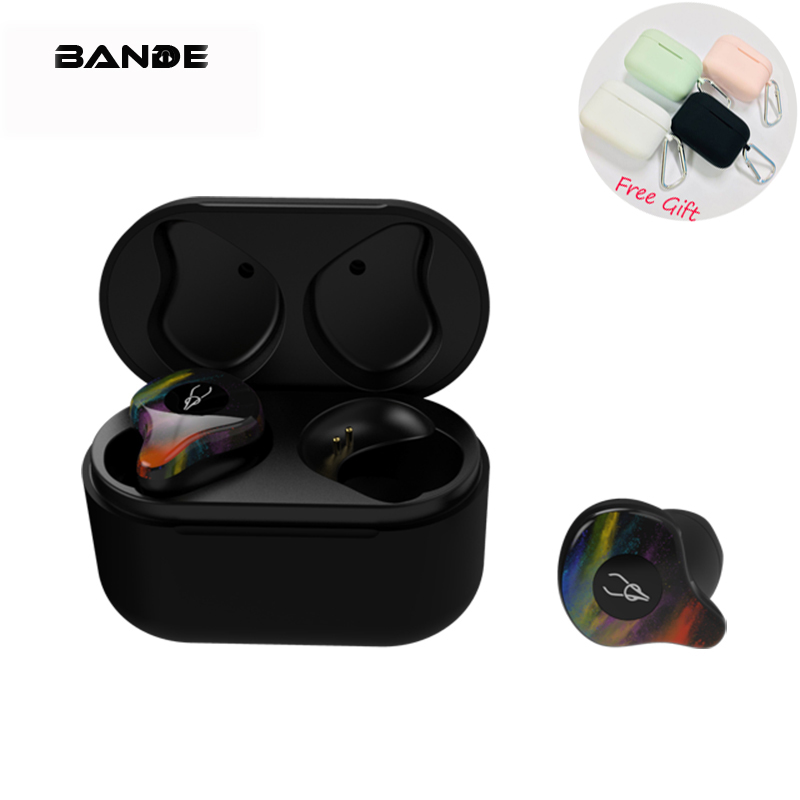 Bluetooth 5.0 Sport Étanche HIFI Haute Qualité 3D Surround Sans Fil Écouteurs