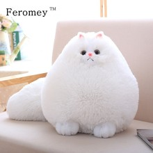 Kawaii Fluffy Cat Plush Toys Persian Cat Stuffed Dolls Soft Pillow Stuffed Animal Peluches Dolls Baby Kids Toys Christmas Gifts