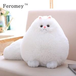 Image 1 - Kawaii puszysty kot pluszowe zabawki perski kot wypchane lalki miękkie poduszki wypchane zwierzę Peluches lalki dla dzieci zabawki dla dzieci prezenty świąteczne
