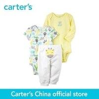 Carter S Baby Children Kids Clothing Boy Spring Fall 3 Piece Little Character Set Giraffe Ecom