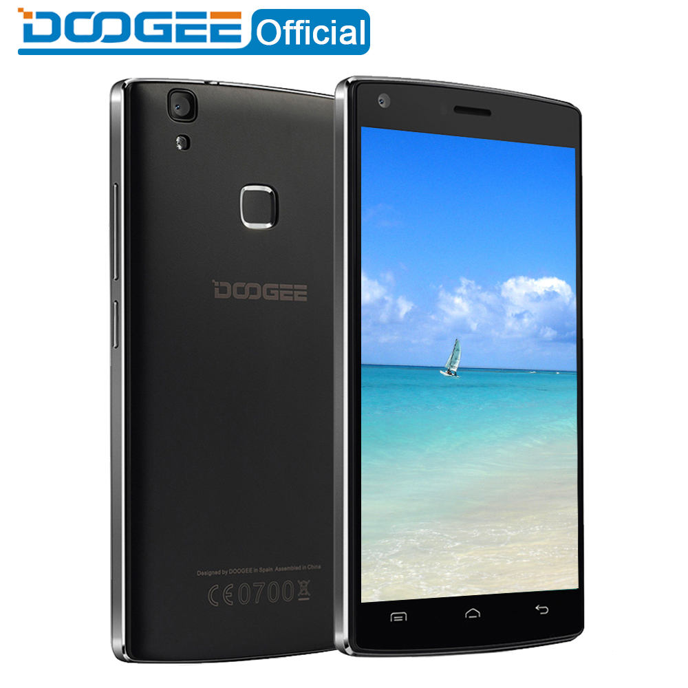 DOOGEE X5 Max pro Fingerprint mobile phones 5 0Inch HD Android6 0 Dual SIM MTK6737 Quad