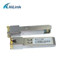 HILINK 40 Pieces a lot Switch Electrical Port GLC T 10/100/1000MBASE T Copper RJ45 SFP