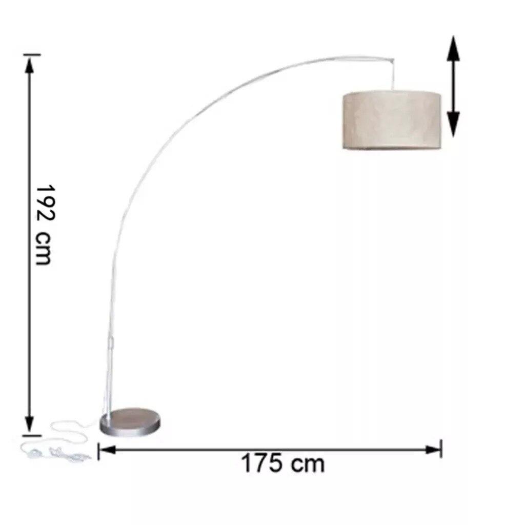Vidaxl Amerikaanse Land Floor Lamp Moderne Slaapkamer Woonkamer Studie Verticale Lamp Nordic Stof Sofa Stof Lamp Hanglamp - 3
