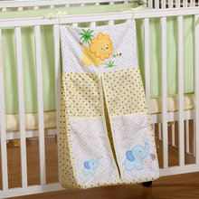 Printed Cotton Baby Bedding Sets Cot Hanging Storage Bag Bottles Diaper Large Miscellaneously