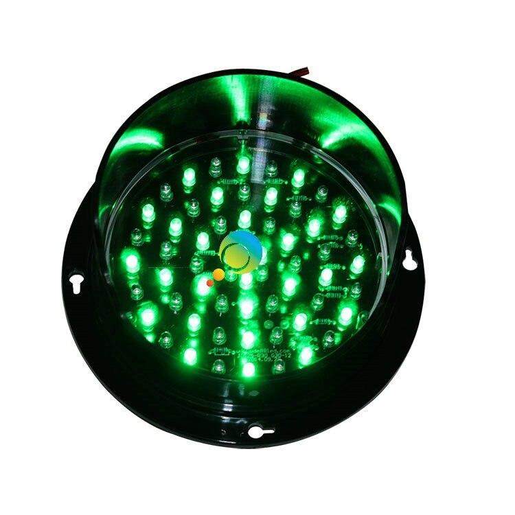 verde lâmpada de sinal de tráfego