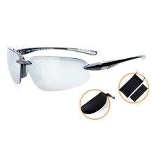 Th6154 eyekepper polycarbonat polarisierte sport-sonnenbrille für männer frauen randlose tr90 unzerbrechlich