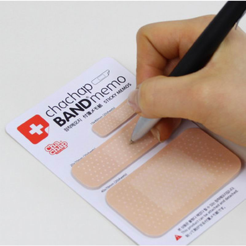 200 PCS New Kawaii Memo Pad Stickers Sticky DIY Notes Message Scratch Posted Schedule Bandage Office