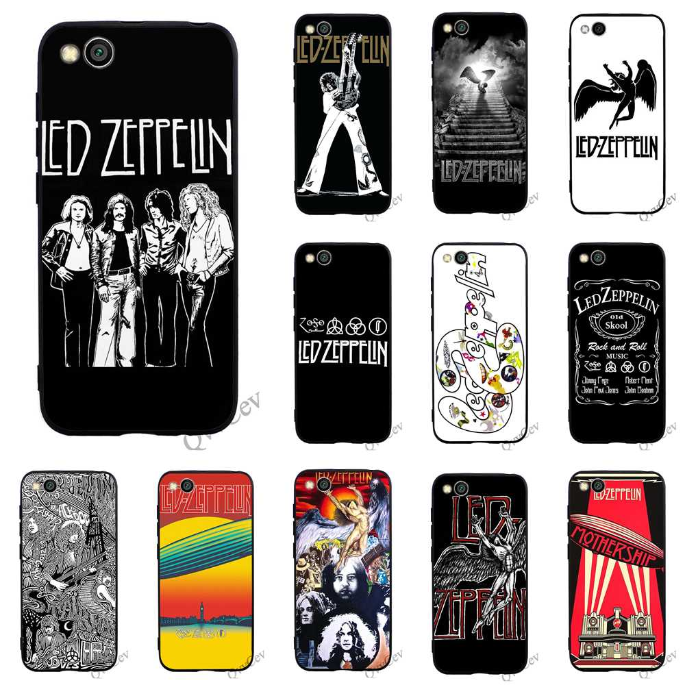 Print Led Zeppelin Phone Cover For Xiaomi A2 Lite Mi Case A1 6 8 F1 Cases Back Relieving Rheumatism And Cold Fitted Cases