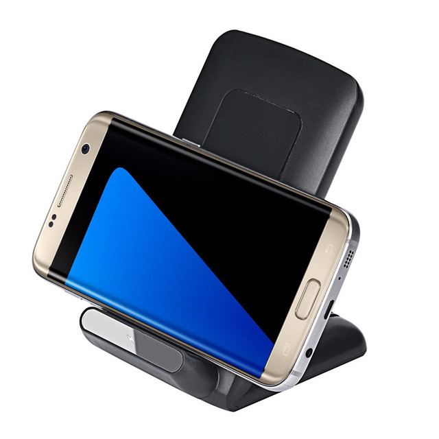Best Price 3-Coils Qi Wireless Charger Stand Dock for Samsung Galaxy S7 S7 Edge /S6 Edge+