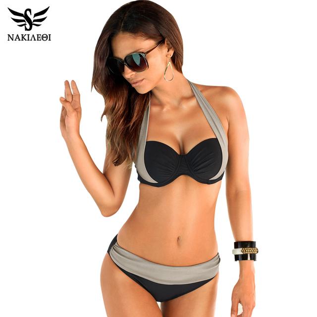 New Sexy Bikinis Women Swimsuit High Waisted Bathing Suits